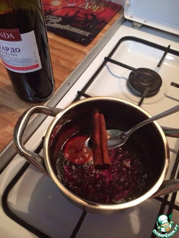 Рецепты домашнего глинтвейна