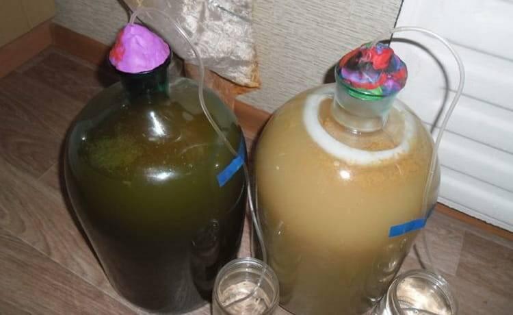 Как сделать гидрозатвор для браги и как его применять