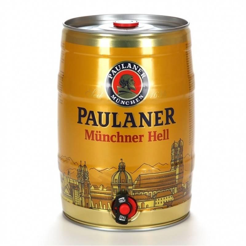 Пиво в бочонках объемом 5 литров