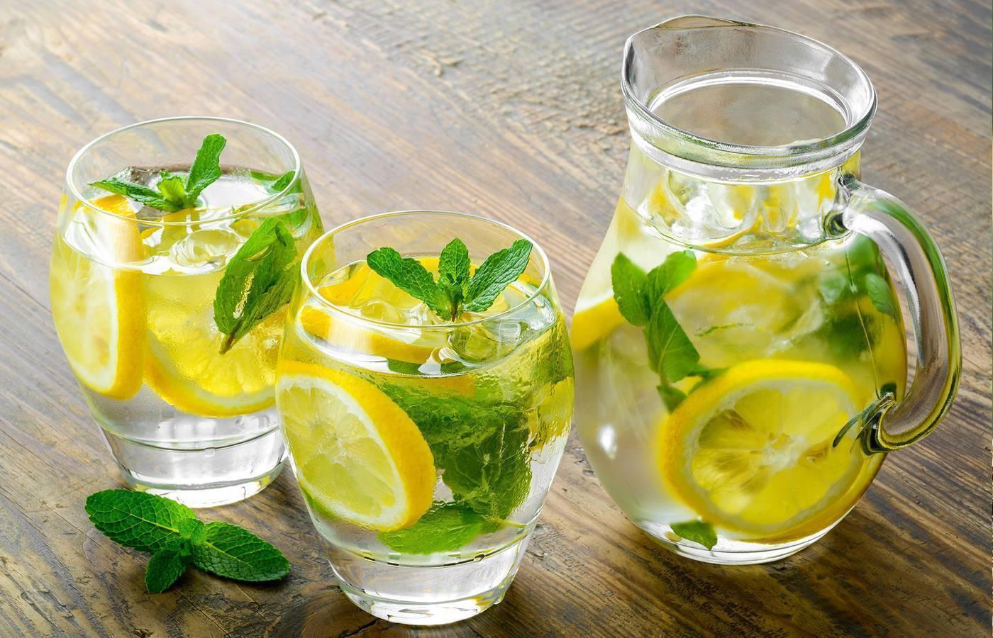 Лимон с похмелья после алкоголя: лимонная кислота и вода