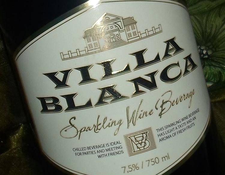 Винный напиток вилла бланка.вермут бьянко