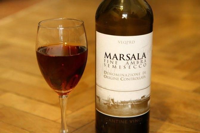 Крепленое вино марсала из сицилии – полный ликбез!
