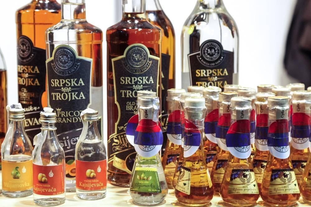 Сербская ракия и ее особенности