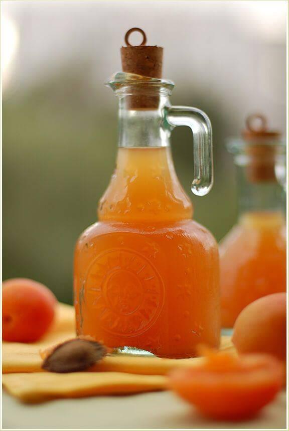 Домашний ликер из абрикосов
