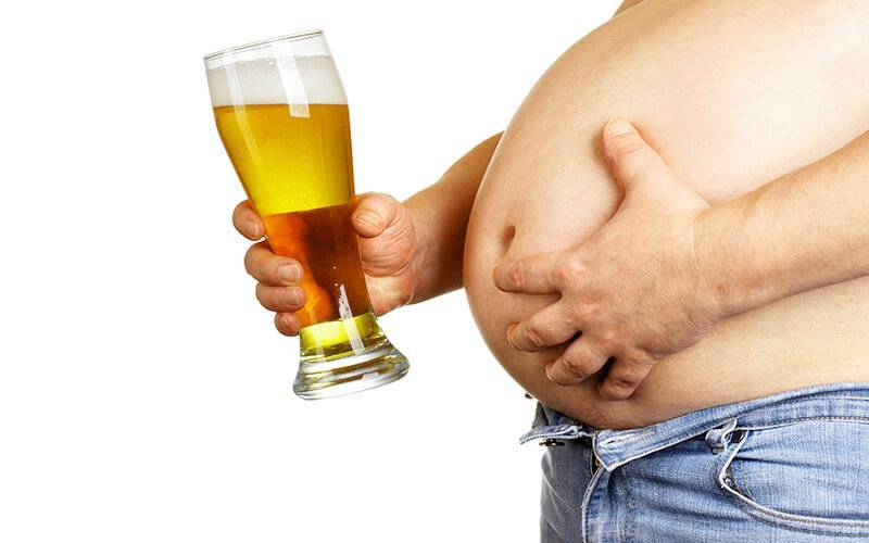 Можно ли поправиться от алкоголя