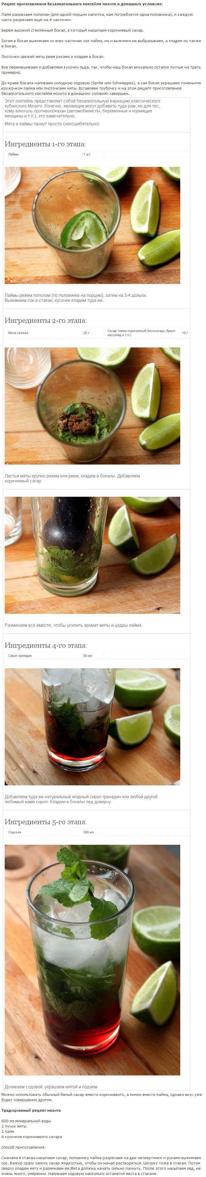 Как приготовить алкогольный Мохито — лучшие рецепт в домашних условиях