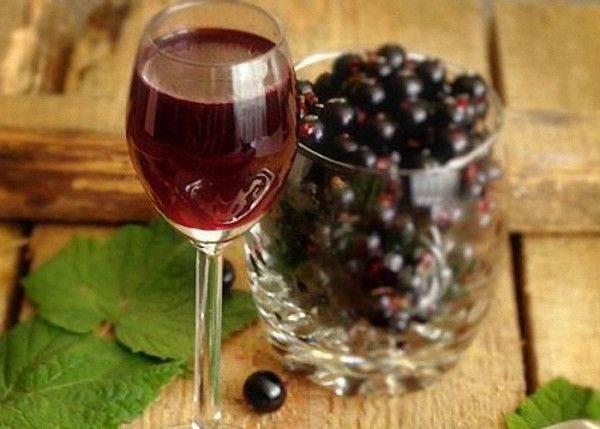 Наливка из черной смородины в домашних условиях рецепт на водке