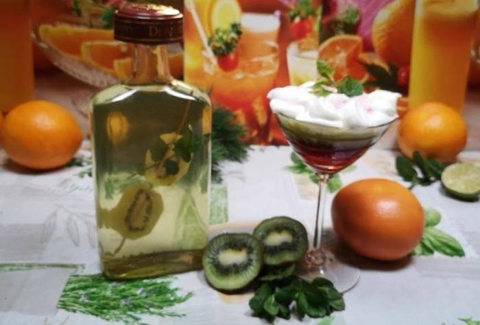 Ликер из киви. настойка киви на водке, рецепт | выпейменя.рф