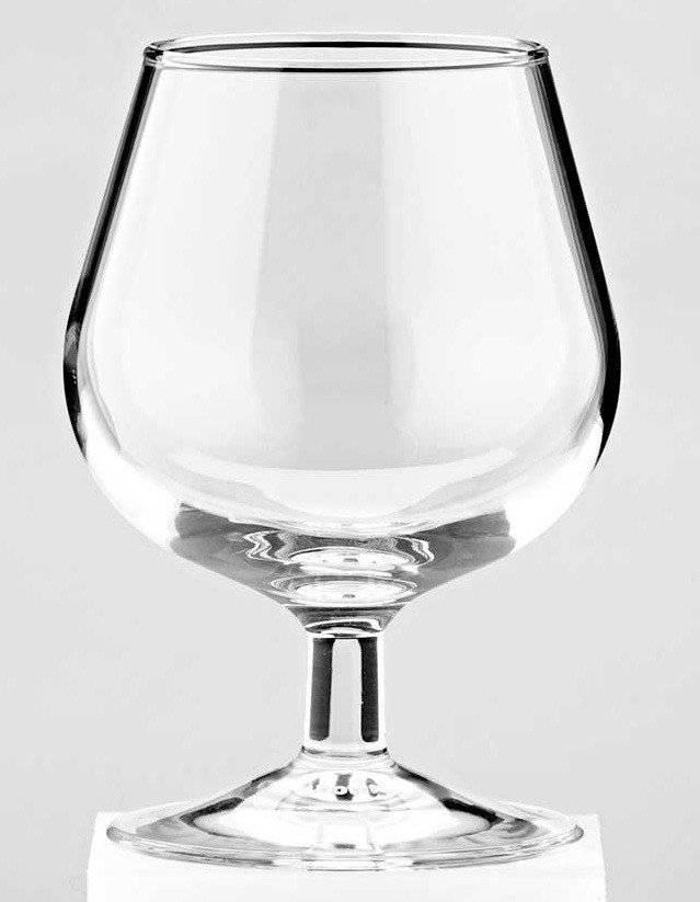 Из какой посуды пьют коньяк — коньячные бокалы, фужеры, стаканы и рюмки