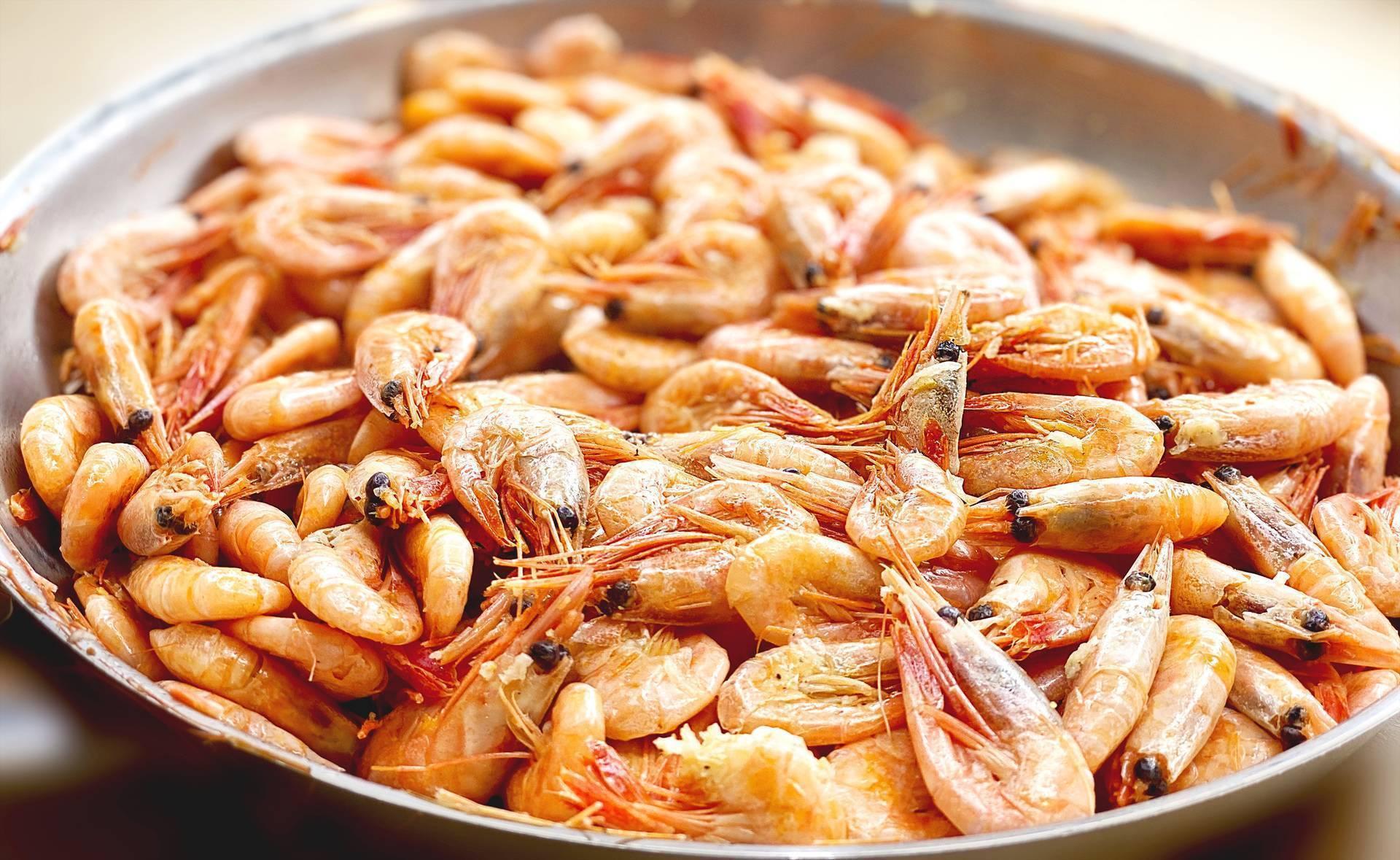Готовим вкусные креветки к пиву