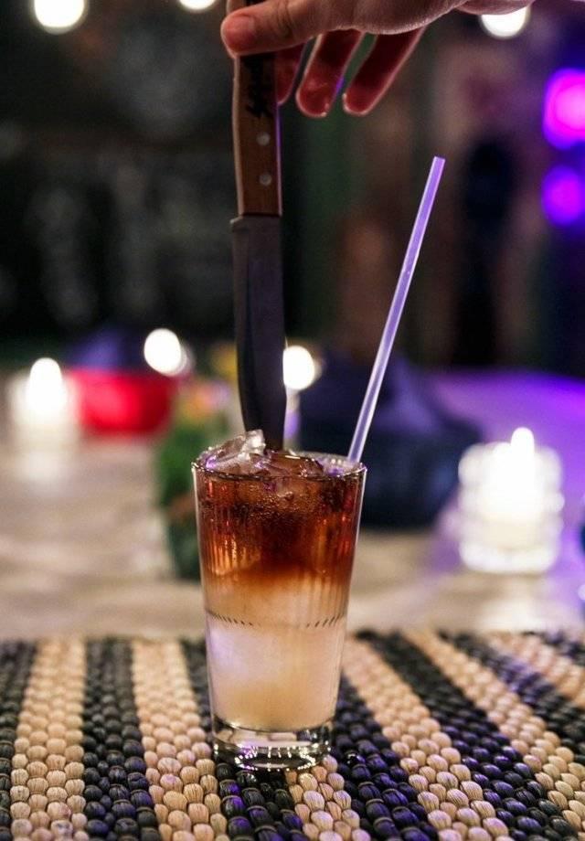 Рецепт коктейля черный русский