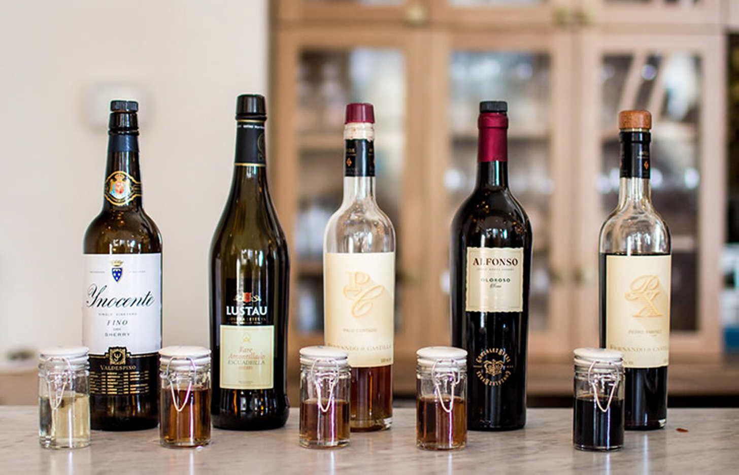Крепкие алкогольные напитки испании