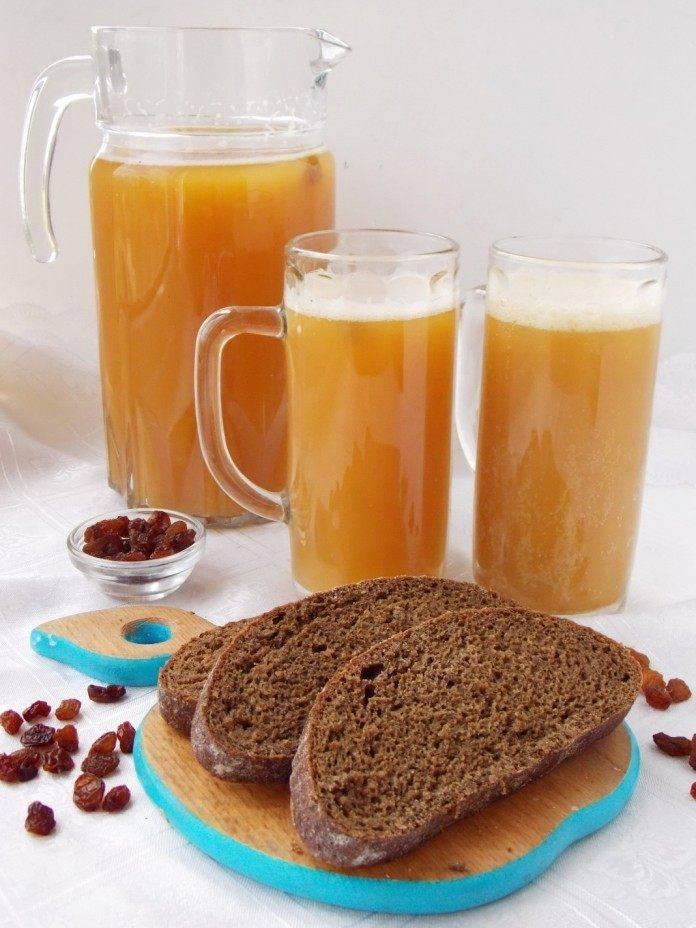 Пошаговый рецепт приготовления кваса из ржаного хлеба в домашних условиях