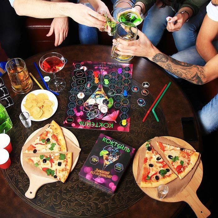 Алкогольные конкурсы для вечеринок и веселой компании