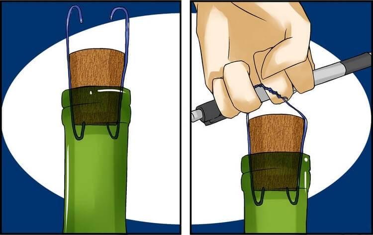 Как открыть вино, если под рукой нет штопора? 8 необычных способов