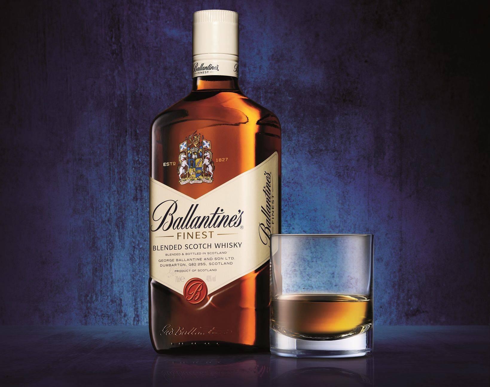 Виски ballantines (баллантайнс): описание и виды марки