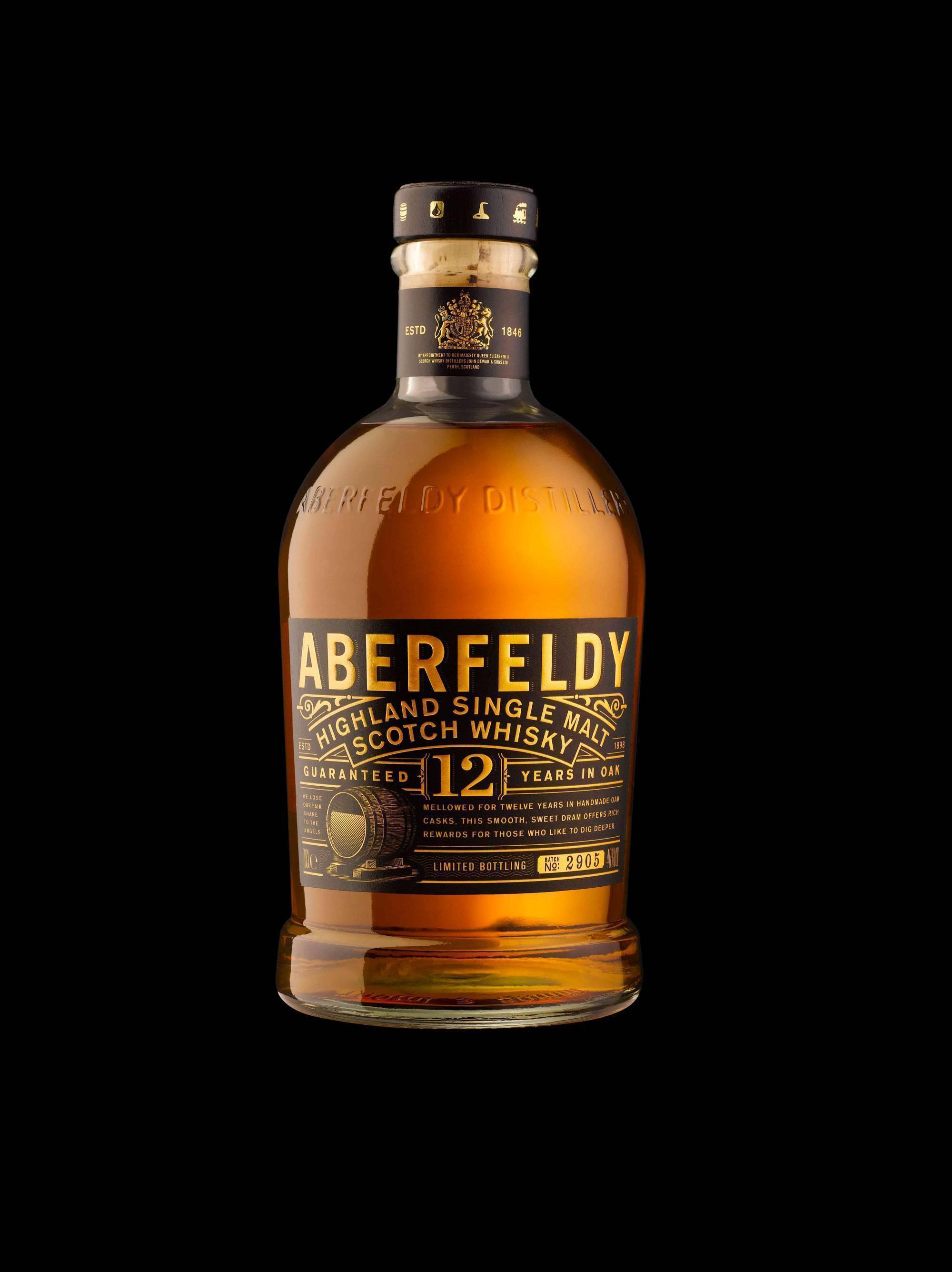 Виски aberfeldy — история алкоголя