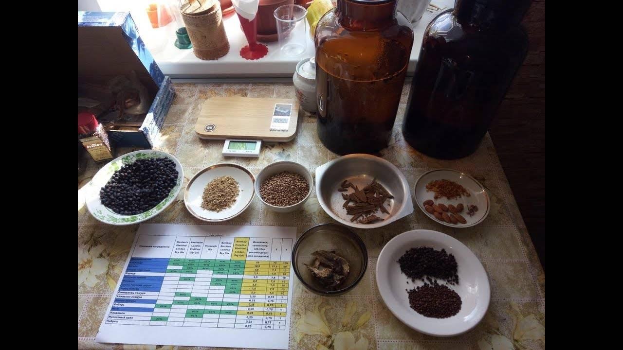 Рецепт приготовления джина в домашних условиях