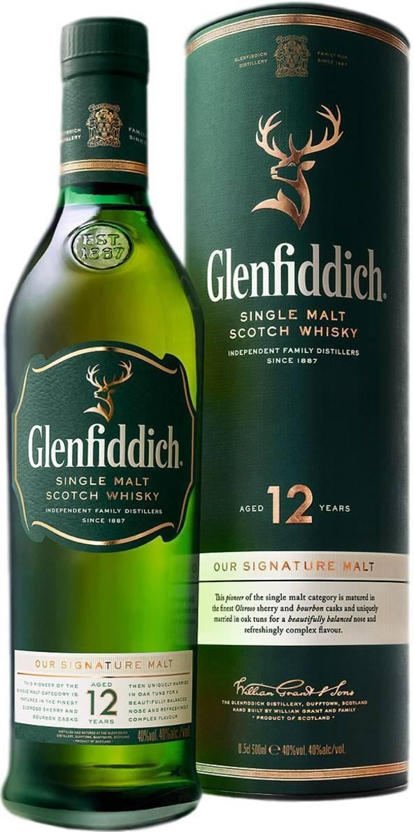 Виски «гленфиддик» - яркий представитель элитного алкоголя
