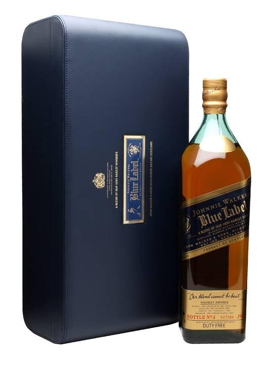"""Виски """"блю лейбл"""": история создания, цена. как отличить оригинал от подделки"""