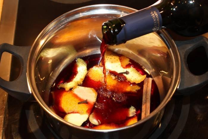 Глинтвейн из белого вина в домашних условиях - рецепты