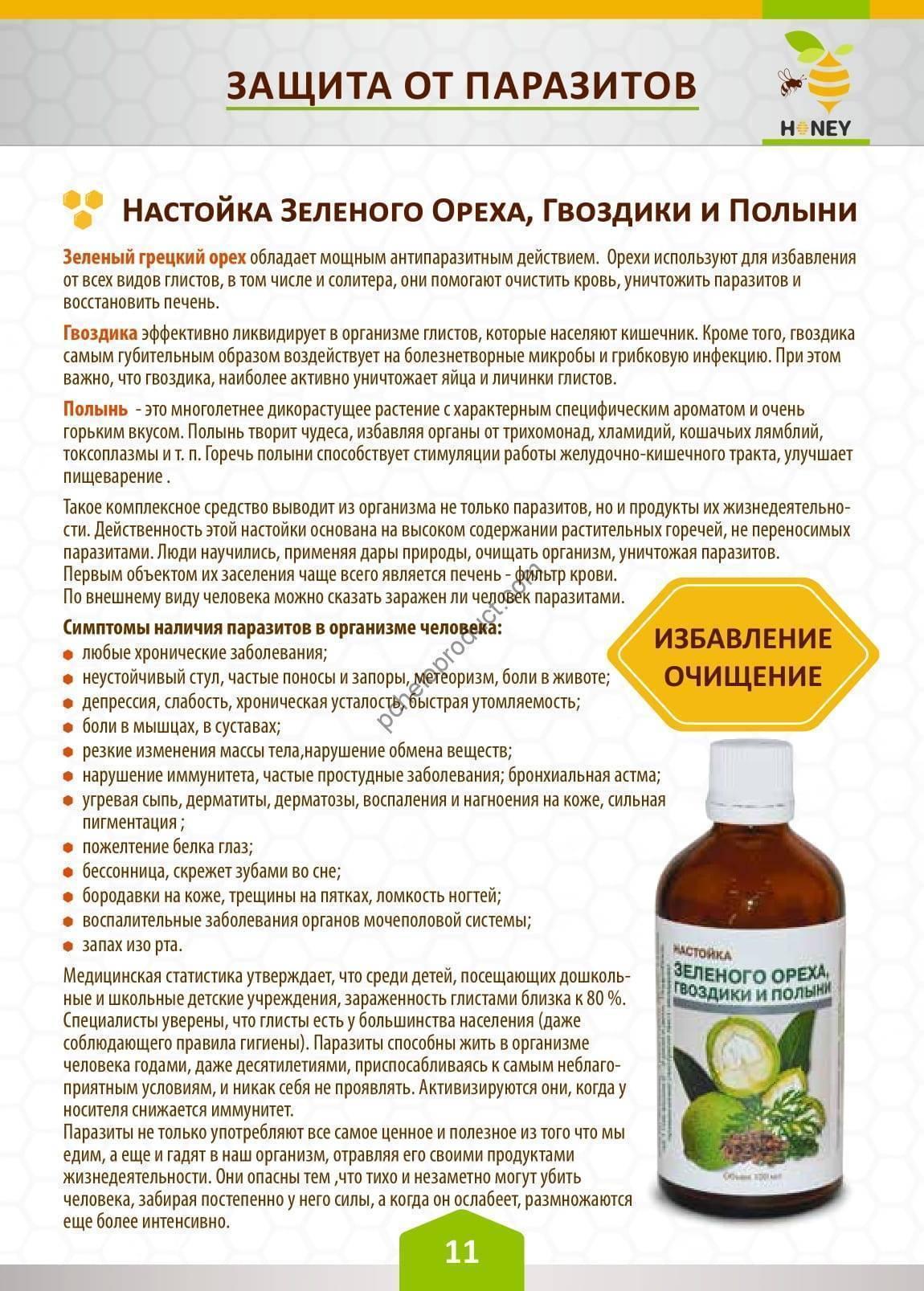 Настойка полыни: показания, инструкция по применению, как пить отвар