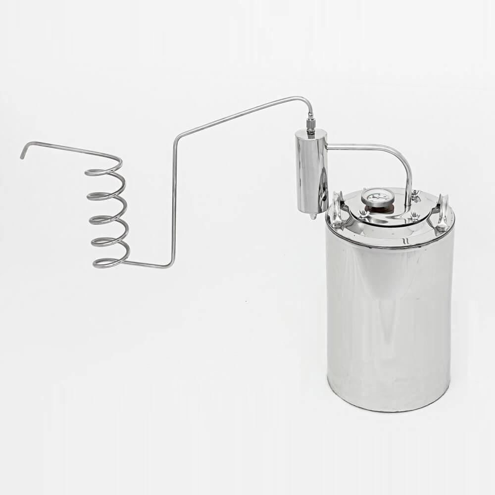 Принцип работы, плюсы и минусы самогонного аппарата, работающего без водопровода