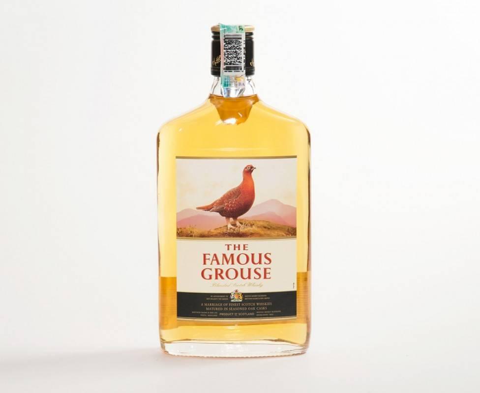 Виски «фэймос грауз» (the famous grouse) 12 лет 0,7л крепость 40%