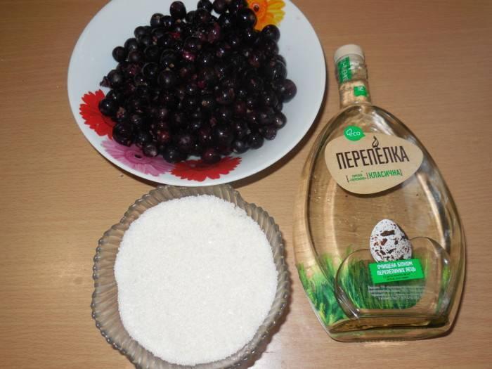 Как приготовить ликер из черной смородины