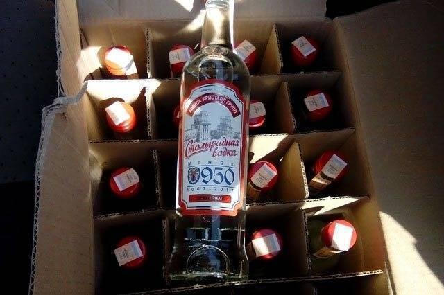 Главный конкурент отечественного крепкого алкоголя – казахская водка