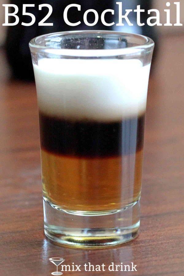Состав и рецепт коктейля б 52