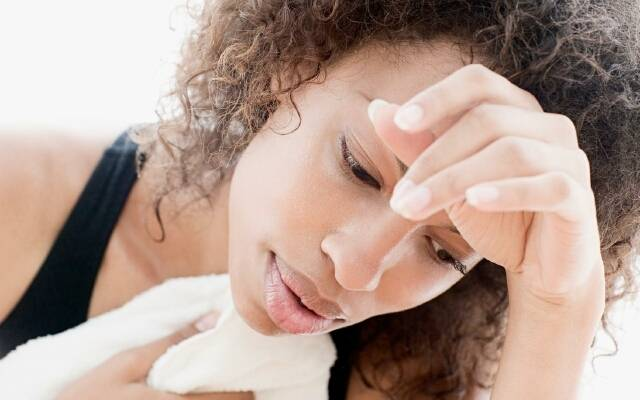 Почему с похмелья сильно потеешь