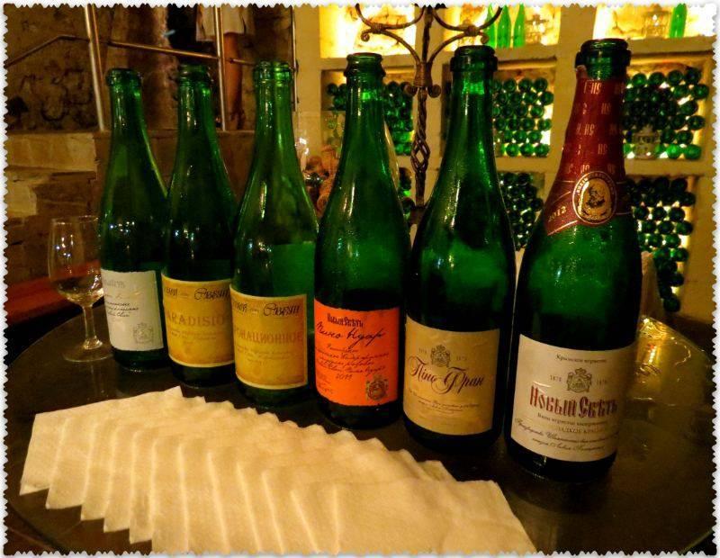 Вкусное шампанское «новый свет»