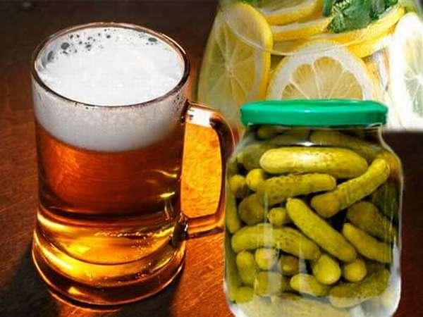Мед с лимоном при похмелье