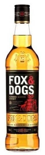 Виски fox - dogs (лиса и собака): описание и история марки