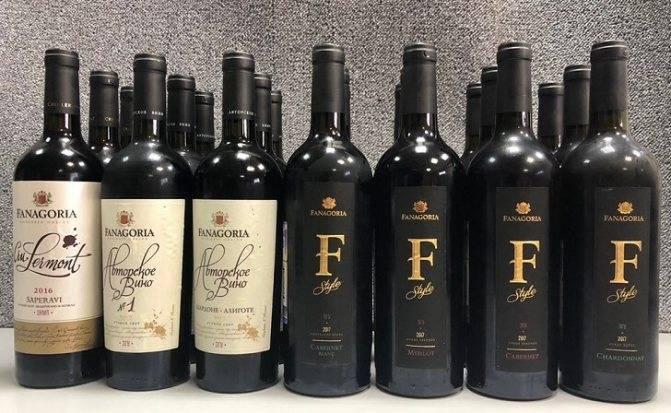 Вино Фанагория 1957 года и его особенности