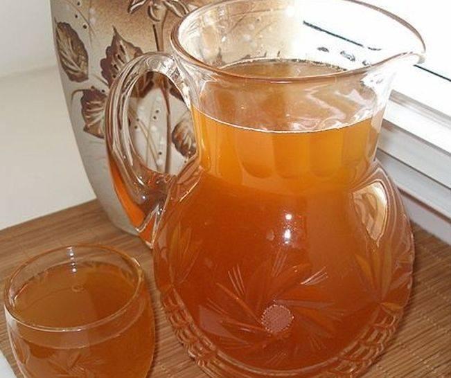 Квас из березового сока в домашних условиях