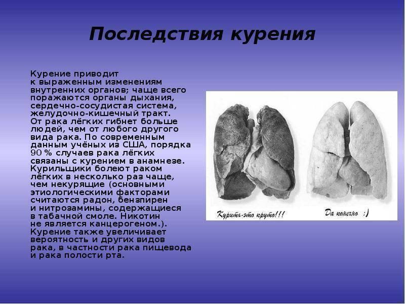 Последствия курения сигарет: все риски (фото курильщиков с разным стажем). табакокурение: психическая и физическая зависимость и методы избавления от нее. курение при беременности, последствия