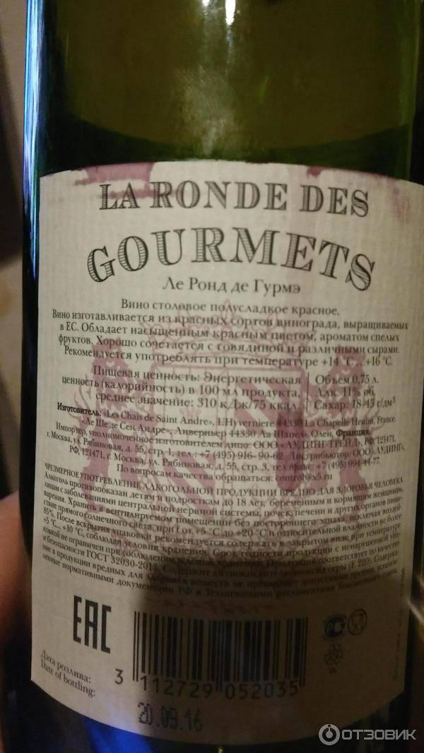 В роскачестве рассказали, как читать винную этикетку