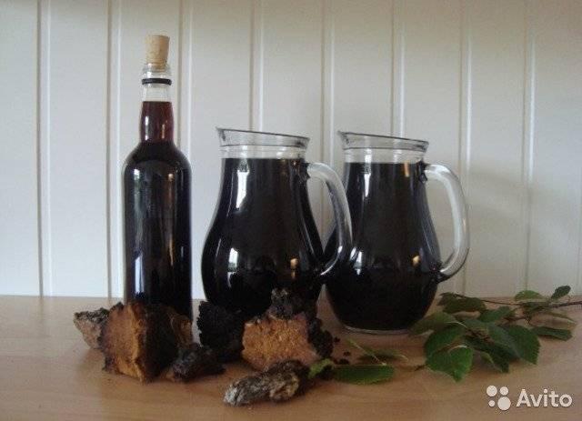 Настойка чаги на водке: рецепт приготовления и применение