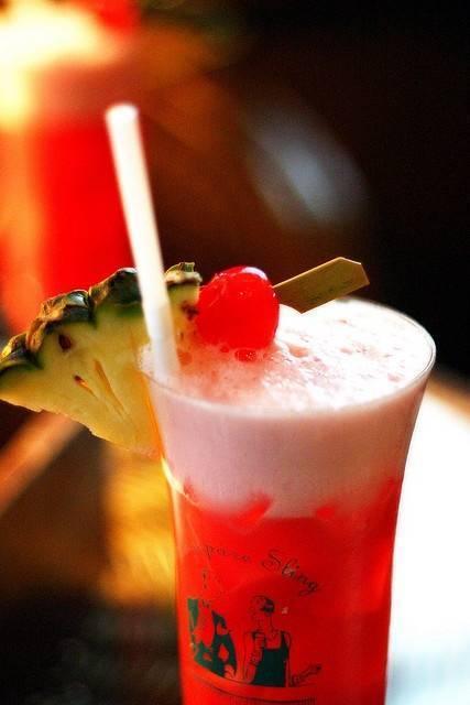 Сингапур слинг рецепт коктейля с фото + видео