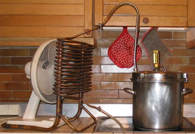 Холодильник для самогонного аппарата: разновидности, материалы для изготовления
