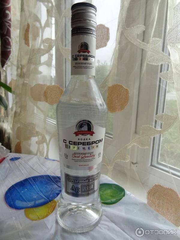 Водка с серебром: серебряная премиум, русское серебро и другие разновидности алкоголя, технология производства, дизайн