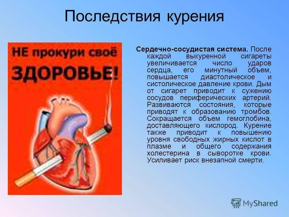 Можно ли курить после инсульта геморрагического инсульта