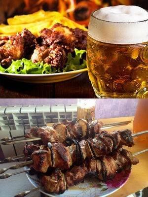 Хашлама на пиве – кулинарный рецепт