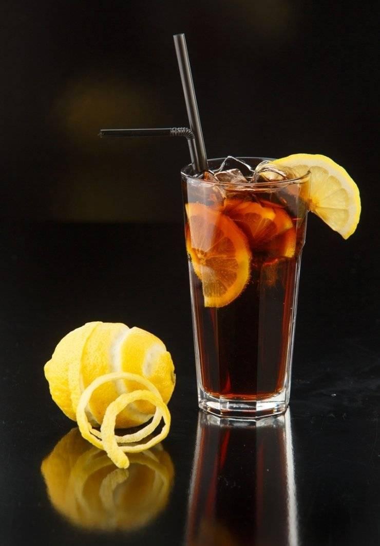 «лонг-айленд айс ти» — коктейль для тех, кто любит погорячее
