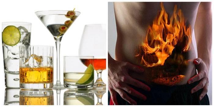 Изжога после алкоголя: причины, методы борьбы с недугом