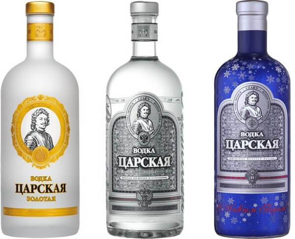 Как отличить подделку водки «царская оригинальная» от оригинала?