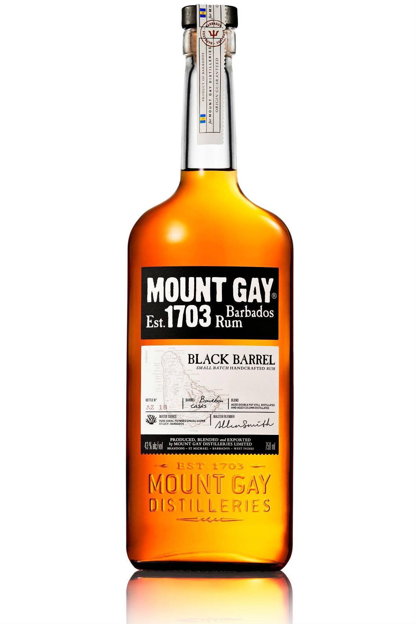 Ром маунт гай (mount gay) – описание, история и виды марки