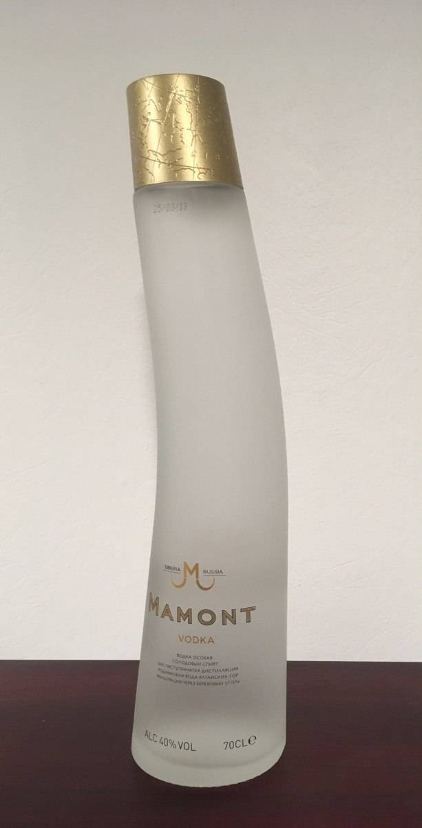 Водка «мамонт» (mamont)